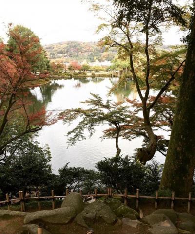 金沢で兼六園とひがし茶屋街散歩