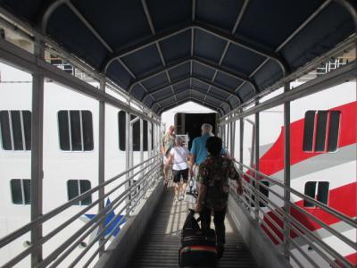 シニアのクルーズ4回目、ハワイ4島クルーズの10日間 その1 プライドオブアメリカ乗船まで