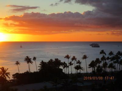 家族でハワイへ ①