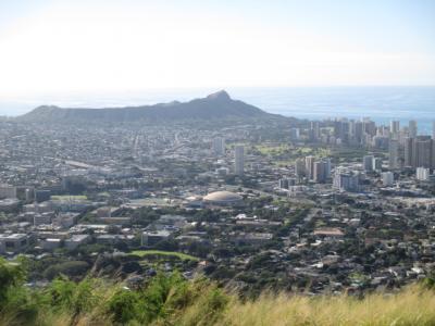 シニアのクルーズ4回目、ハワイ4島クルーズの10日間 その5 下船しタンタラスの丘見物して帰国の途へ