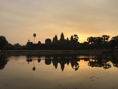 友人が来たら近場の国に遊びに行こう!カンボジア