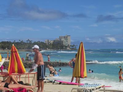 【復刻】ハワイ3島巡り(1)ワイキキへ、ウルフギャングスへ