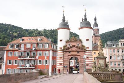 2016年ドイツの旅 (4)   学問の街 古都ハイデルベルク
