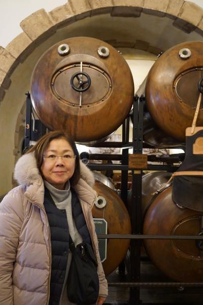 中欧4か国周遊のツアーをクリスマスマーケット巡りとして楽しむ。(4)修道院ビールのランチを楽しみ、聖ヴィート教会からカレル橋までのプラハ旧市街を歩く。