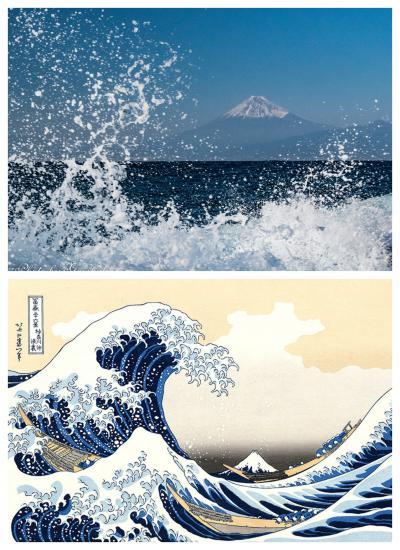 海越しの富士山ビューポイントを巡る