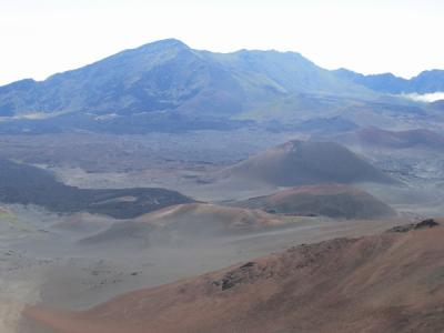 【復刻】ハワイ3島巡り(2)ハワイアン航空でマウイ島へ飛んでハレアカラ火山へ