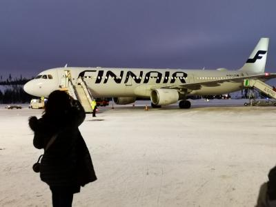 北欧のクリスマス8日間-6-サーリセルカからヘルシンキ