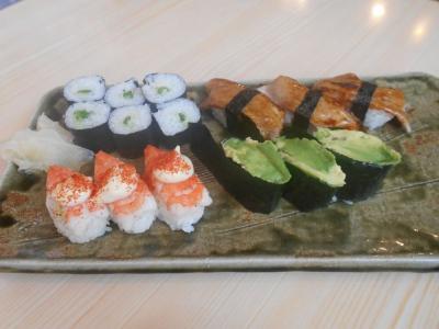 """ニッポンの中の外国めぐり1809  「""""メキシコ寿司""""なるものを提供する寿司屋を訪れました。""""寿し宗""""」  ~島田・静岡~"""