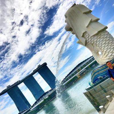 初 海外旅行!シンガポール1日目