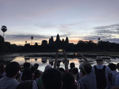 【2】音楽仲間3人組で行くカンボジア&バンコク旅