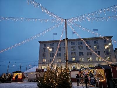 北欧のクリスマス8日間-8-ヘルシンキ滞在2