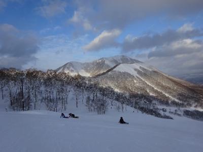北海道スキー三昧(セントレア~ルスツ) 2019.1.9