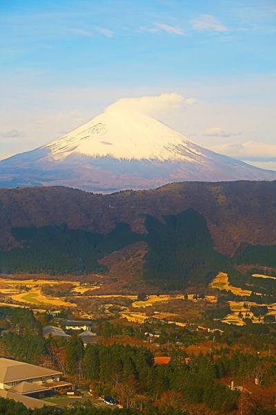 箱根-6 大涌谷⇒桃源台 箱根ロープウェイで ☆富士山:壮大な展望に恵まれ