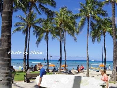 ハワイで過ごす結婚記念日⑥ 2日目☆青い海を見ながらの朝食とトロリードライブ