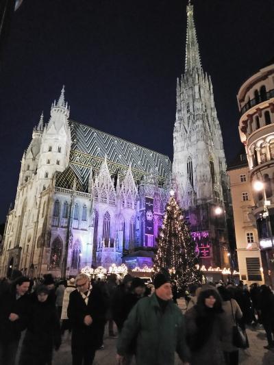 2018 クリスマスマーケット巡り~その4(ウィーン)