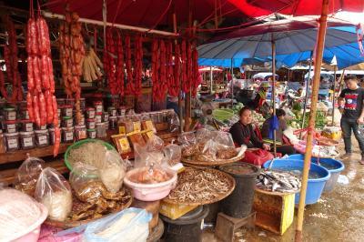 イサーン&ラオス南部周遊 マイナー年末年始⑤-1 パクセー 市場町中巡り