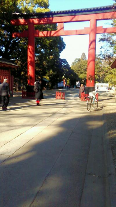 大宮氷川神社参拝