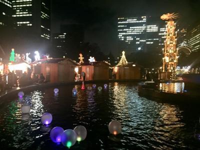 【新橋・日比谷】東京タワー、日比谷公園クリスマスマーケット2018年12月14日(金)