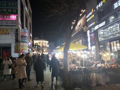 2019年1月 韓国・ソウル 1日目 チャムシル球場~弘大