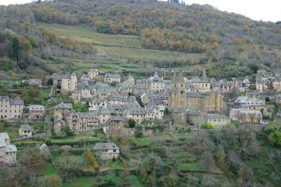 鉄道・バスで「南西フランス と ミディピレネーの美しい村」(4) ~ コンク、ロデズ