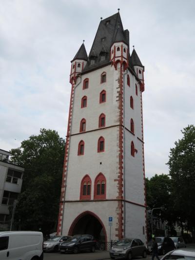心の安らぎ旅行(2018年 春 Mainz マインツ Part22 Holzturm 木造の塔♪)