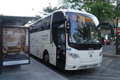 フランス旅行記2018 Part36(バスでシャルル・ド・ゴール空港へ編)