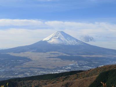 芦ノ湖スカイラインからの富士山 【山伏峠展望台・杓子峠・三国峠】
