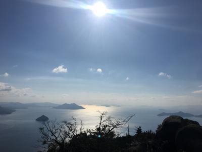 厳島神社初詣と弥山登山