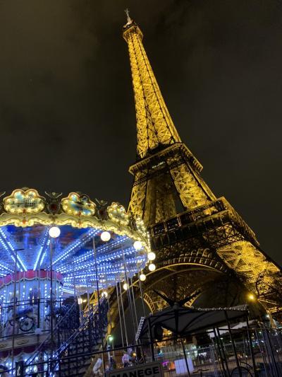 初パリ 新婚旅行