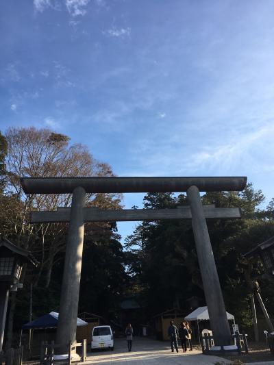 鹿島神宮から香取神宮