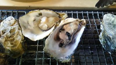 牡蠣食べ放題を満喫!