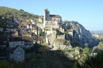鉄道・バスで「南西フランス と ミディピレネーの美しい村」(5) ~ サン・シル・ラポピー、カオール、ボルドー