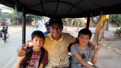 カンボジアシェムリアップ旅 親子3世代の旅 2日目