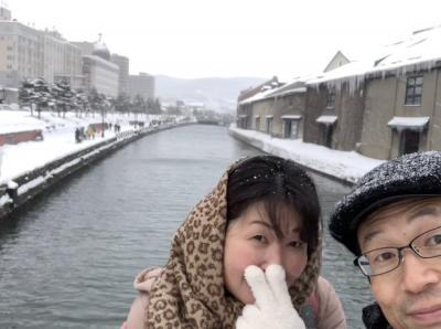 2019大寒波の冬の北海道1泊2日①小樽