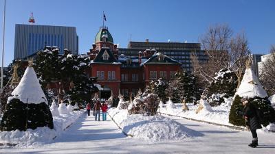 冬の札幌へ1泊2日・おいしいものを食べに☆