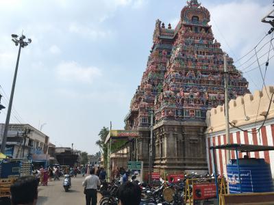 南インド、チェンナイからカルールへ400kmの旅