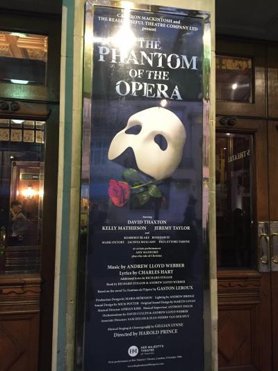 ロンドン・パリ・ディズニーの旅2日目~ハリーポッタースタジオツアー・アフタヌーンティーバスツアー・オペラ座の怪人を1日でこなす