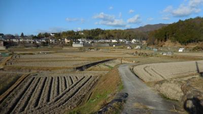 冬の山の辺の道 全35kmを歩く(後半:石上神宮~近鉄奈良駅)