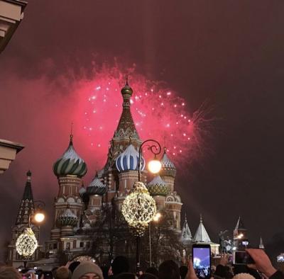 年末年始ロシア周遊1人旅①