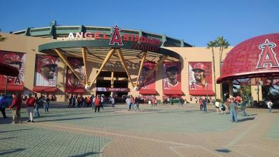 Anaheim大谷観戦