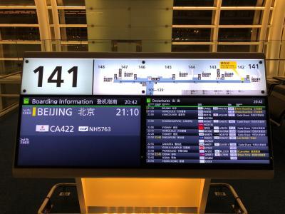 初ヨーロッパ 0日目 東京~北京~パリ