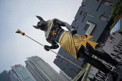 魚眼でいく広深港の旅 其之弐 草食系麻婆と広州タワー満喫編
