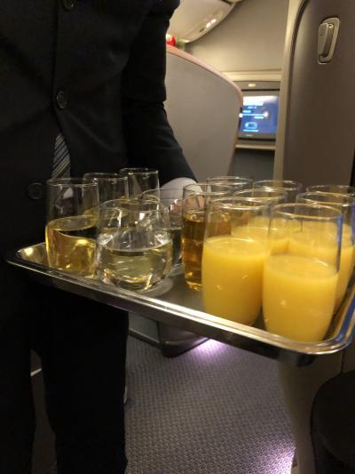 2018年12月 恒例のバリ島旅行記 その① シンガポール航空 ビジネスクラス SFO/HKG/SIN/DPS 搭乗記