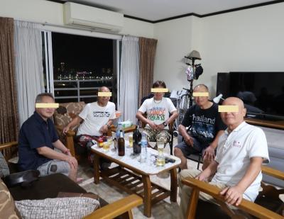 パタヤ生活2019年1月(下)憧れのオートレーサー4名と会食