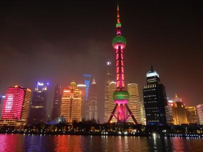 上海水郷めぐり(朱家角・七宝)と外灘・浦東夜景めぐり