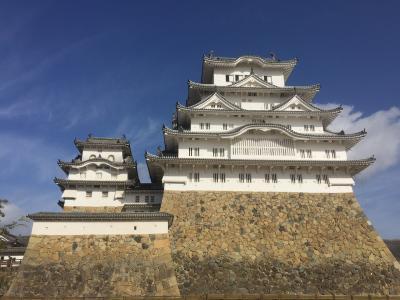 姫路城→小豆島→高松 イサム・ノグチ庭園美術館
