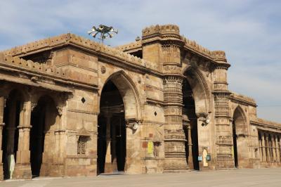 西インド グジャラートの旅(11)~アーメダバード2 ジャマー・マスジッド~