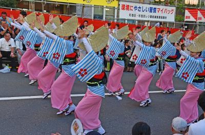 高円寺阿波踊り2018見物