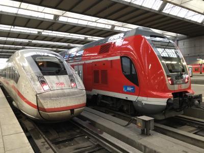 初ヨーロッパ 2日目 Nightjet~ミュンヘン~マンハイム~パリ
