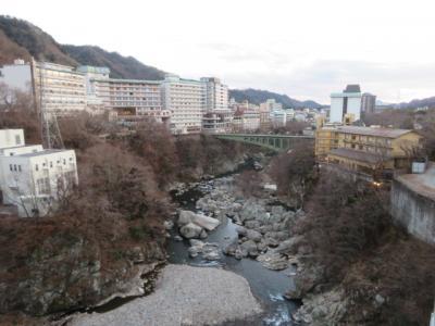 鬼怒川温泉のものぐさの宿「花千郷」に宿泊・温泉と食事を楽しむ